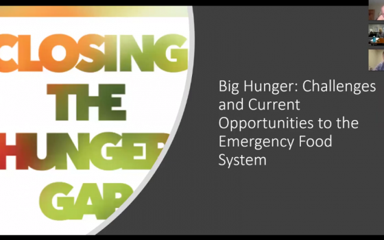 Big Hunger Webinar