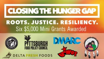 Closing the Hunger Gap Mini Grants Awarded